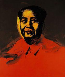 Portret Mao, Andy Warhol; źrodło: Sotheby's