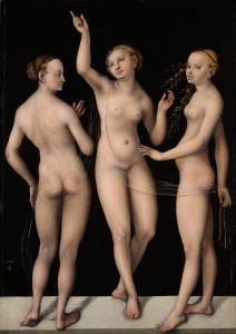 Łukasz Cranach Starszy, Trzy Gracje (1535)