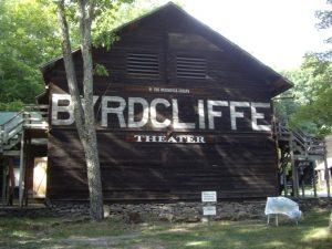 Teatr w kolonii artystycznej Woodstock Byrdcliffe