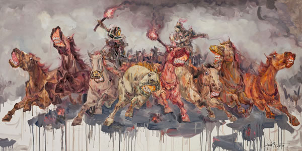 Chińscy debiutanci: Qiu Guangping, The wagon of Arson, źródło: Guangdong Museum of Art