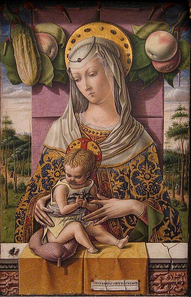 Crivelli ;Madonna and Child; źródło: Metropolitan Museum of Art NY