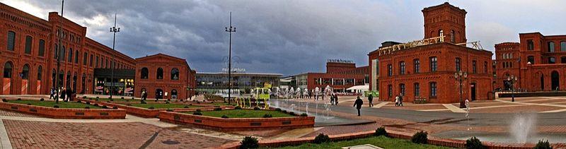 Udana rewitalizacja kompleksu fabrycznego Izraela Poznańskiego, dziś CH Manufaktura w Łodzi