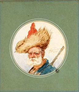 Aleksander Orłowski - Mężczyzna w futrzanej czapie