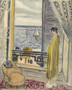 """Matisse, """"Femme Aupres de la Fenetre"""", źródło: Christie's"""