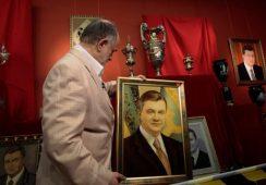 Kiczowata kolekcja sztuki Wiktora Janukowycza