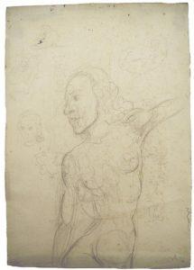 Rysunek ze szkicownika Salvadora Dali, w ofercie Paul Fraser Collectibles