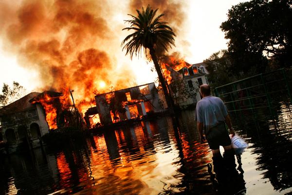 Michael Appleton – Huragan Katrina (2005) © Michael Appleton