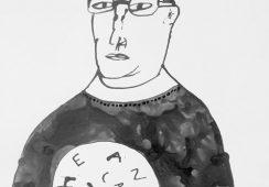O relacji artysta-kurator, malarstwie i hołdzie złożonej głupocie ludzkiej