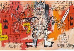 Dzieło Basquiata po raz pierwszy na aukcji