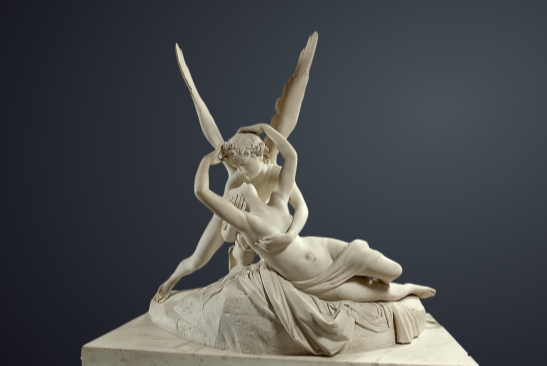 Antonio Canova. Amor i Psyche. 1787/93. Luwr, Paryż