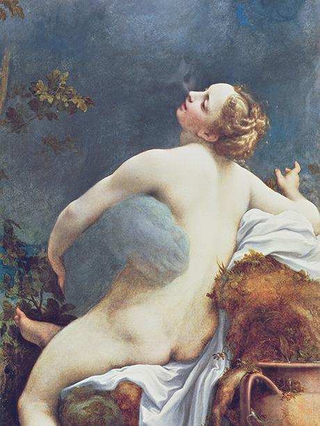 Correggio. Jowisz i Io. Około 1530. Kunsthistorisches Museum, Wiedeń