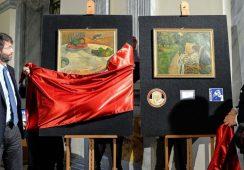 Obrazy Gauguina i Bonnarda odnalezione po 44 latach