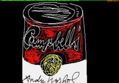 Nieznane prace Warhola na dyskietkach komputerowych
