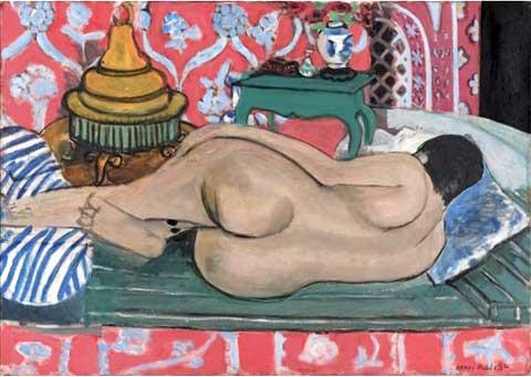 """Henri Matisse """"Nu couché dos"""", źródło: Sotheby's"""