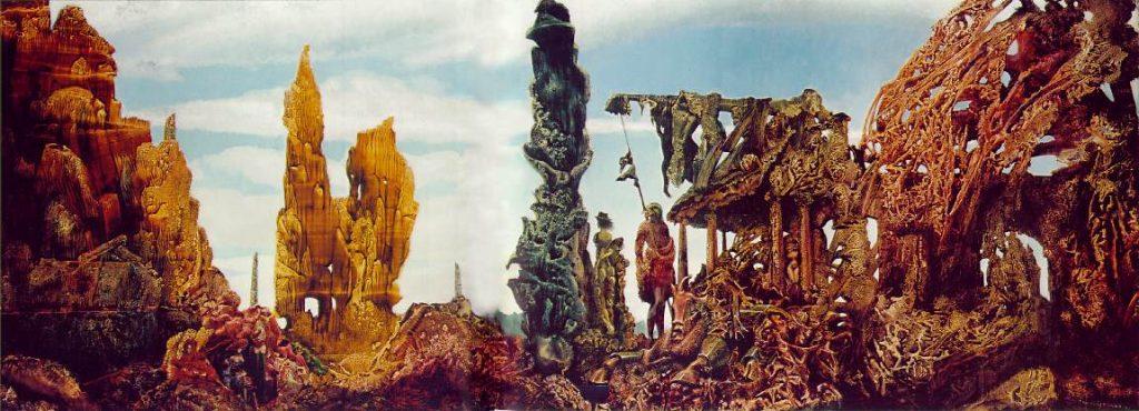 Max Ernst – Europa po deszczu ( 1940-1942), źródło: Wadsworth Atheneum