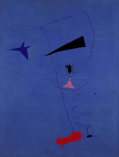 """Miro """"Étoile Bleue"""", źródło: Sotheby's"""