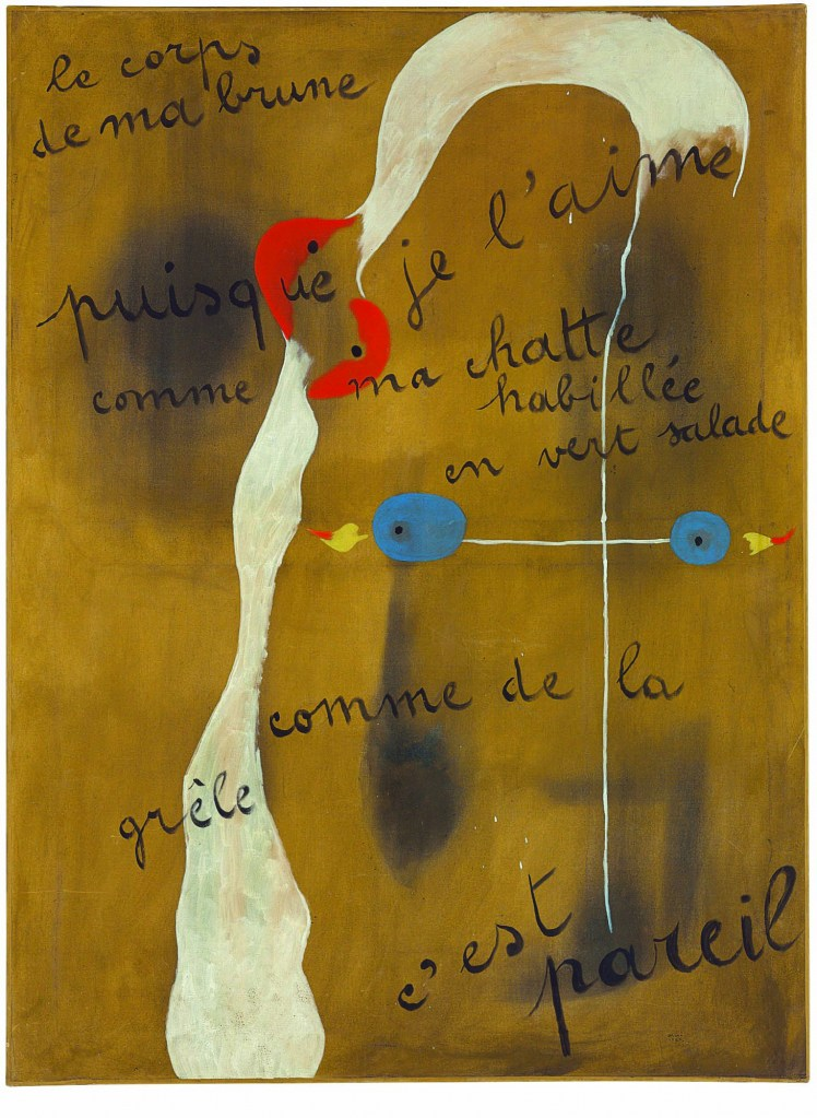 "Joan Miro ""Painting Poem"", źródło: Christie's"