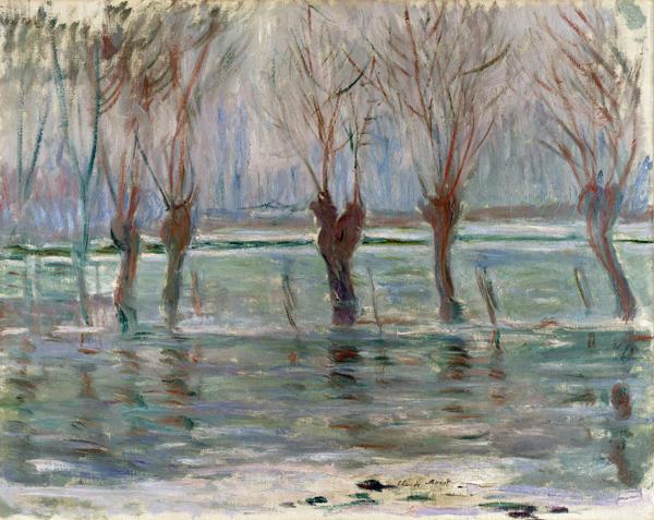 Claude Monet – Powódź (1896)