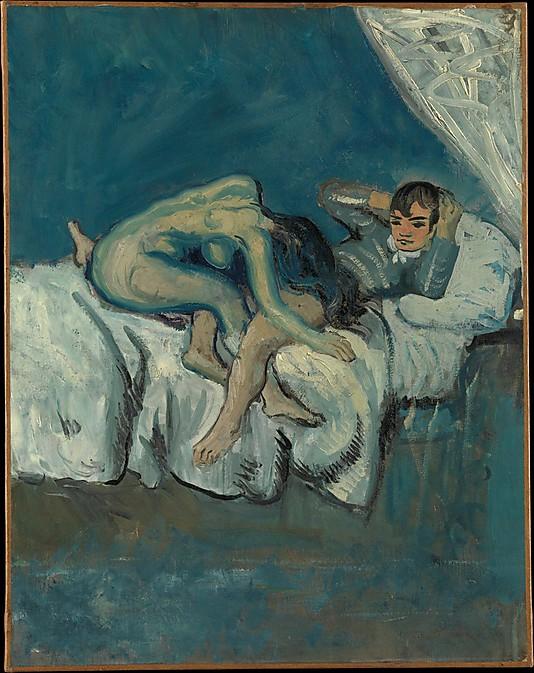 Pablo Picasso. Sceny erotyczne. 1902/03. Metropolitan Museum of Art w Nowym Jorku