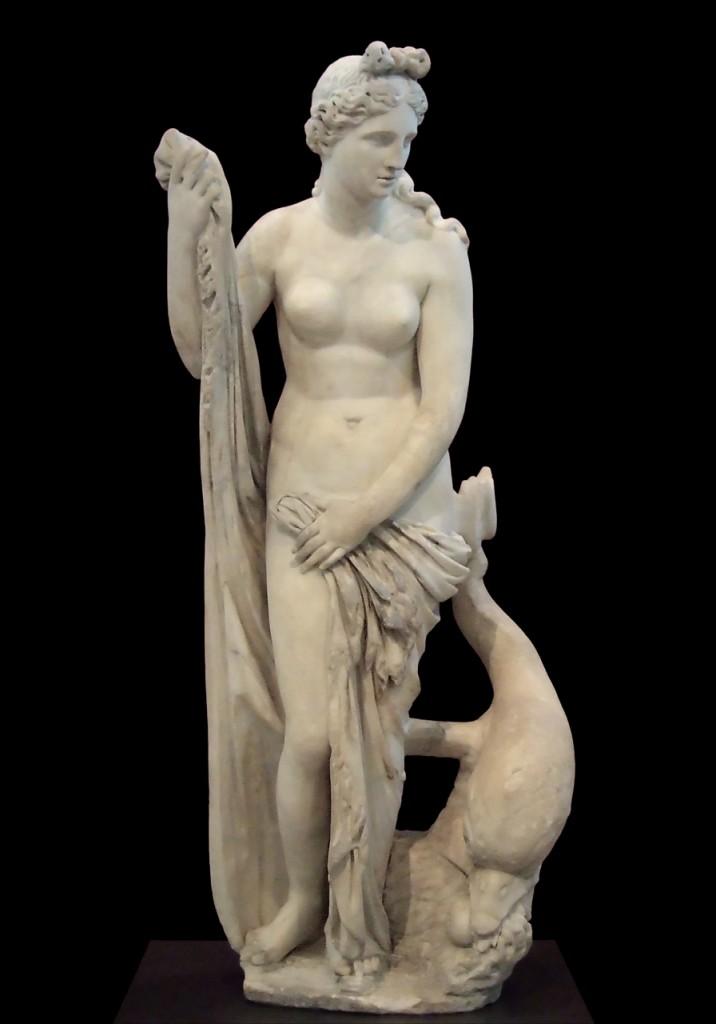 """Capitoline Venus"" Praxiletes; źródło: Archaeological Museum of Olympia"