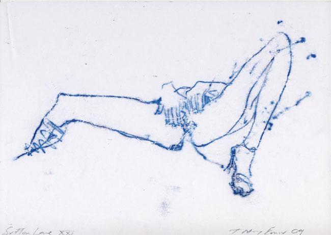 Tracey Emin. Ci, którzy doświadczyli miłości. 2009. Kolekcja prywatna