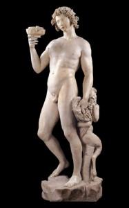 "Michał Anioł ""Bachus"" (1496-1497), źródło: Palazzo del Bargello"