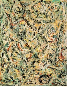 """Eyes in the Heat"", Jackson Pollock, Guggenheim Collection"