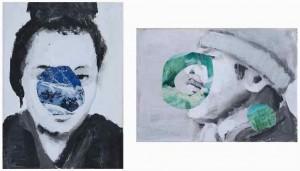 """Pikaso """"Para portretów"""" (2011), źródło: Galeria Zero Zer"""