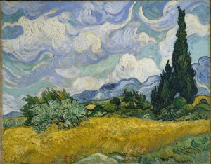 Vincent van Gogh, Krajobraz pod burzliwym niebem, 1889