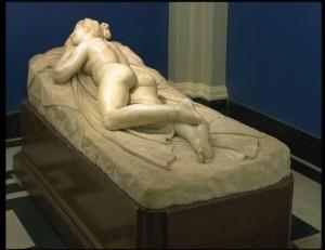 """Canova, """"Sleeping Nymph"""" (1820-1824), V&A"""