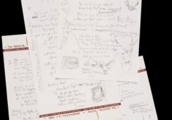 "Rekordowa cena za manuskrypt z tekstem piosenki Boba Dylana ""Like a Rolling Stone"""
