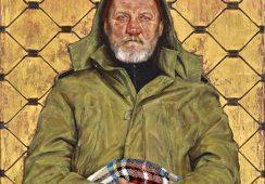 Portret bezdomnego mężczyzny zapewnił Thomasowi Ganterowi zwycięstwo w BP Portrait Award 2014