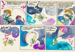 Słynne komiksy nieznanych artystów