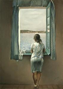"""Salvador Dali, """"Figure at a Window"""", Museo Nacional Centro de Arte Reina Sofia"""