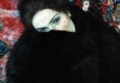 """Dama z mufką"" Gustava Klimta odnaleziona"