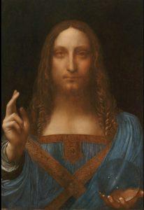 """Leonardo da Vinci """"Salvator Mundi"""" (1490-1519)"""