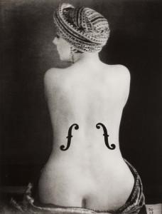 """Man Ray, """"Le Violon d'Ingres"""", J. Paul Getty Museum"""