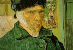 Artysta rekonstruuje ucho Vincenta van Gogha