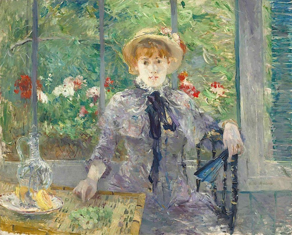 Berthe Morisot, Après le déjeuner, źródło: Christie's