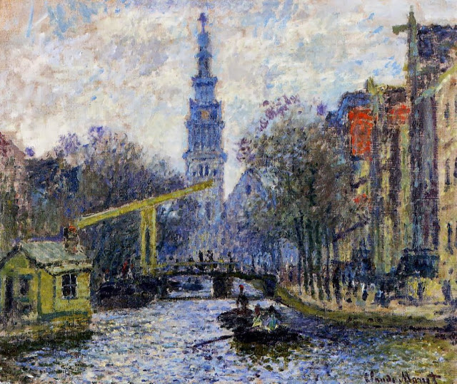 Claude Monet, Amsterdam, 1874, Shelburne Museum, Vermont