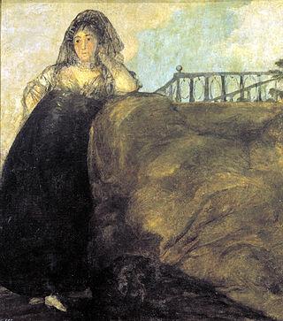 Francisco de Goya, La Leocadia, 1819–1823, ze zbiorów Muzeum del Prado w Madrycie
