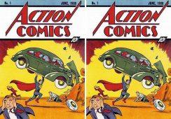 Superman i Batman najlepsi na aukcjach