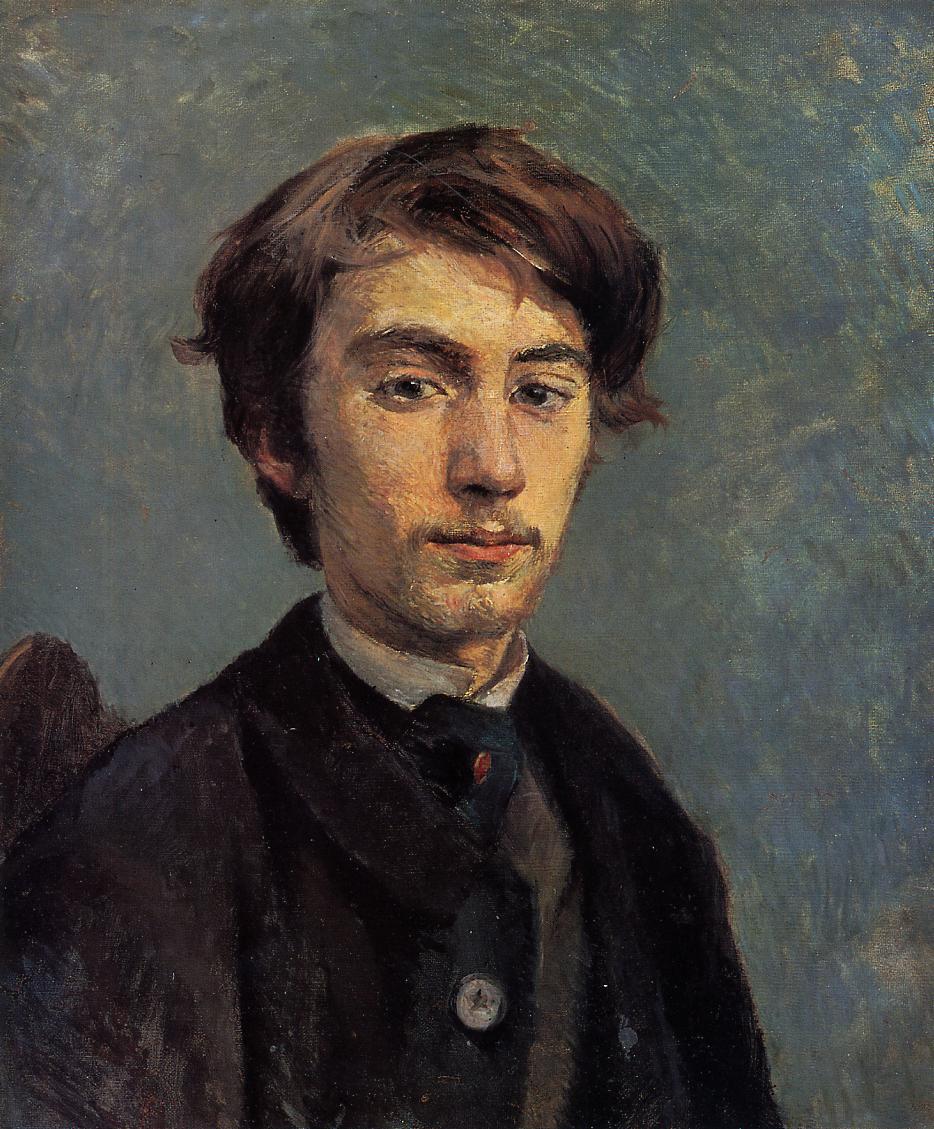 Henri de Toulouse-Lautrec, Portret Émile Bernarda, 1885, z kolekcji Tate w Londynie