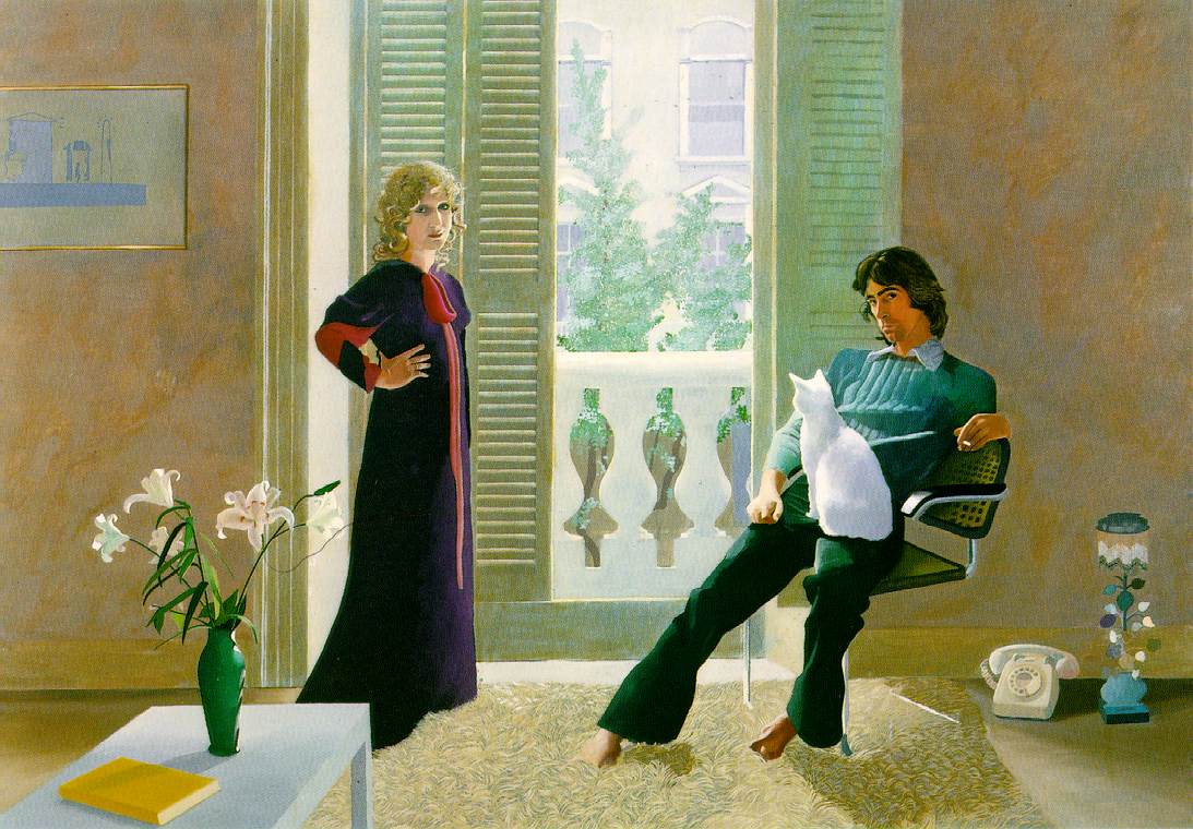 David Hockney, Pan i Pani Clark oraz Percy, 1970