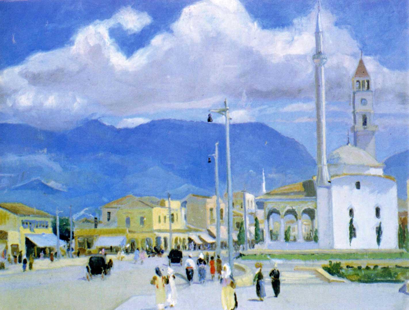 Vangjush Mio, Tirana, 1942, ze zbiorów Narodowego Muzeum w Tiranie