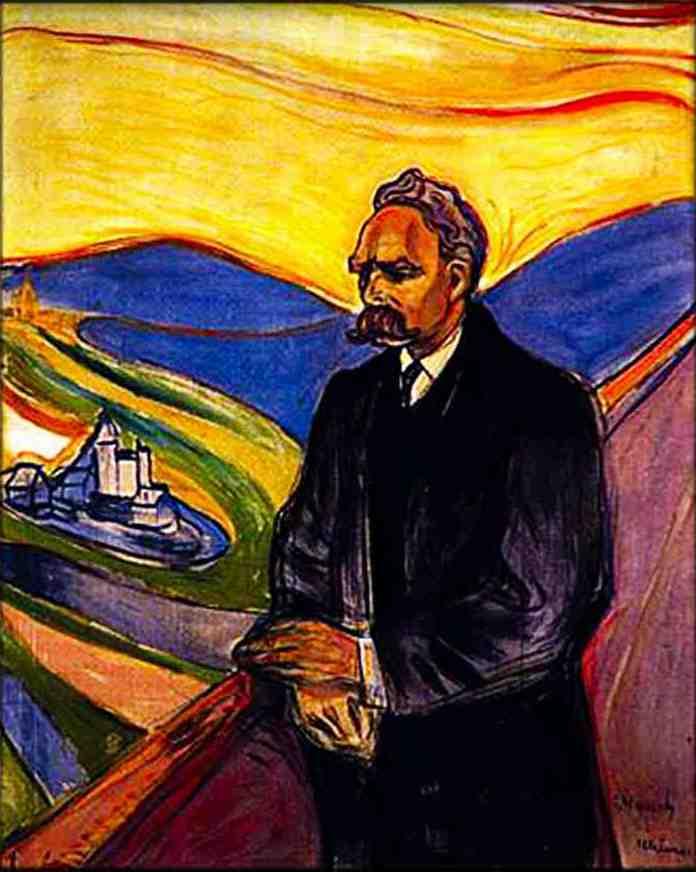 Edward Munch, Portret Fryderyka Nietzschego, 1906, źrodło: Thielska Gallery w Sztokholmie