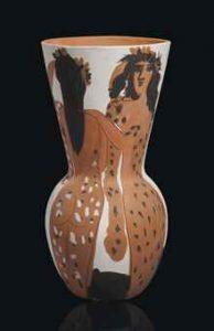 Pablo Picasso, Grand Vase aux Femmes Voilees, źródło: Christie's