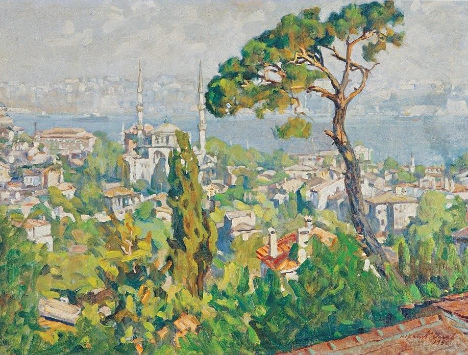 Hikmet Onat, Poranek w Toygartepe, 1956, ze zbiorów Muzeum Instanbul Modern