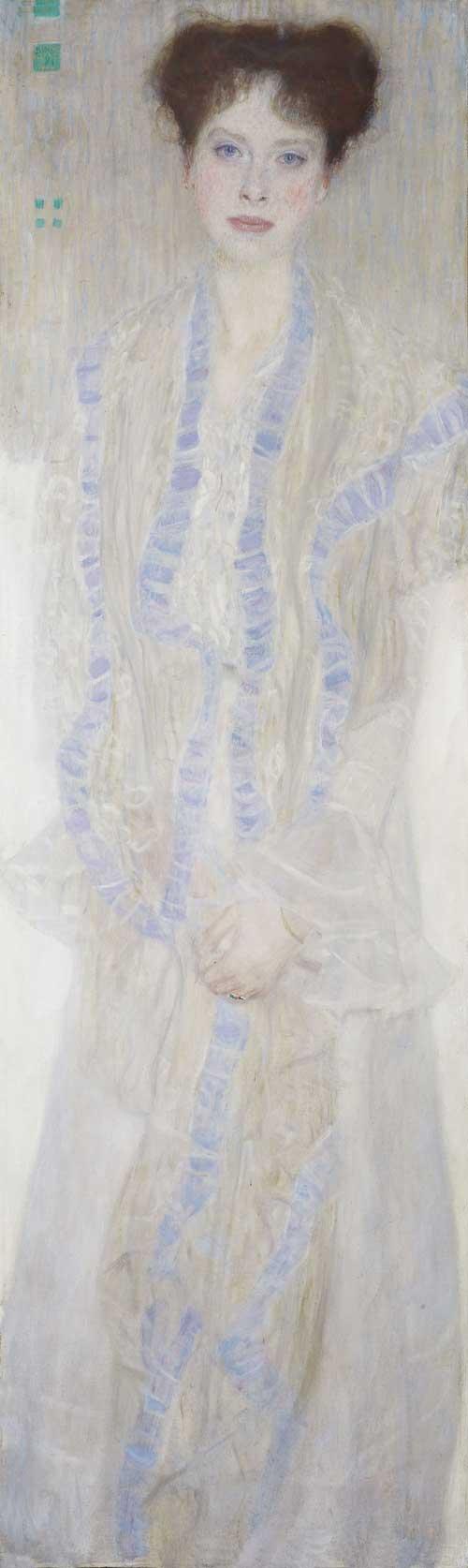 Gustav Klimt, Portret Gertrudy Loew, 1902