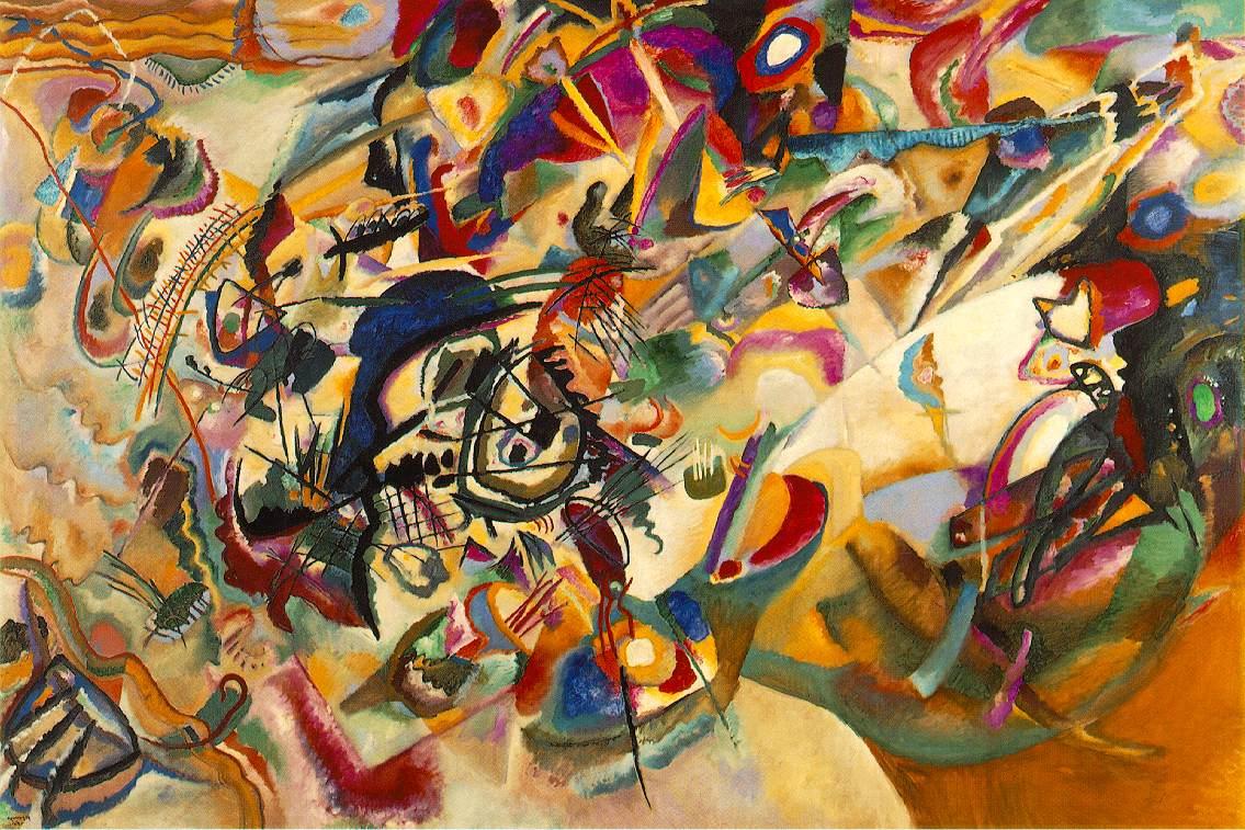 Wissily Kandinsky, Kompozycja VII, 1913, The State Tretyakov Gallery w Moskwie